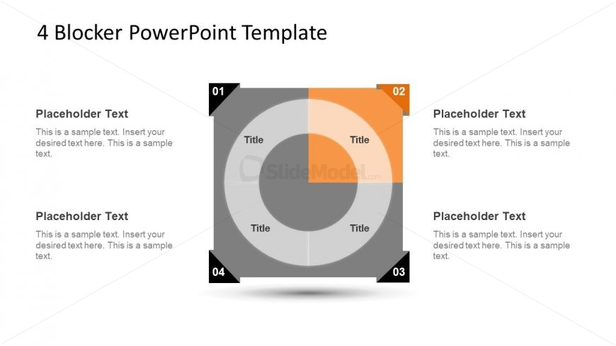 4 Blocker Style PowerPoint Slide 14