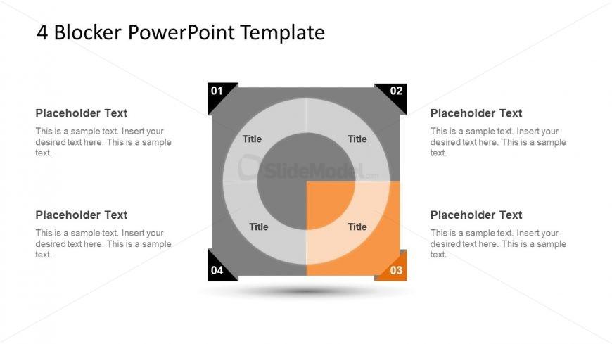 4 Blocker Style PowerPoint Slide 15