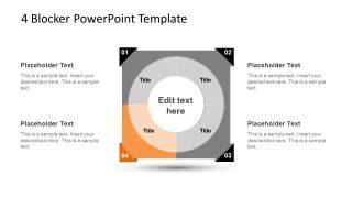 4 Blocker Style PowerPoint Slide 20