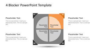 4 Blocker Style PowerPoint Slide 6