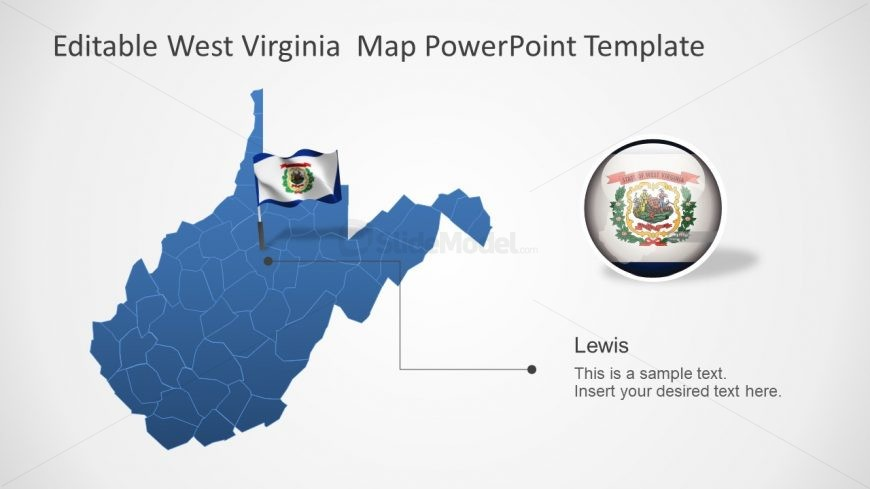 Presentation of West Virginia in PPT