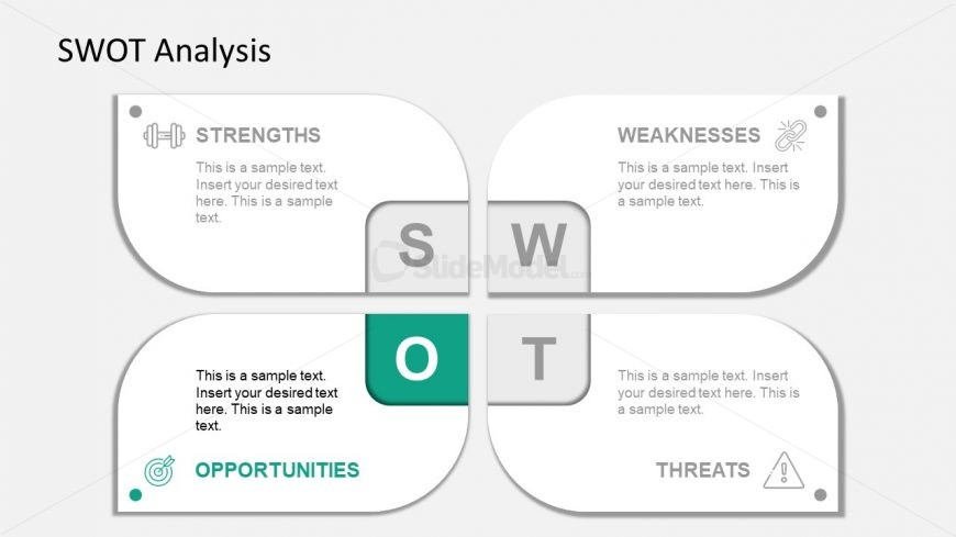 Slide of Opportunities Infographic PowerPoint