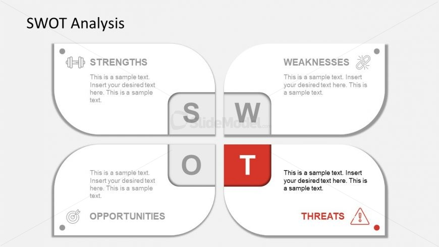 Slide of Threats Infographic PowerPoint