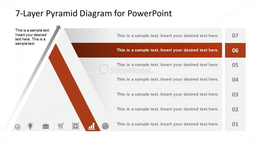 Level 6 of Pyramid Diagram