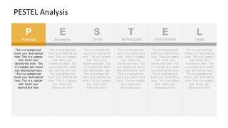 PESTEL Analysis Political Segment