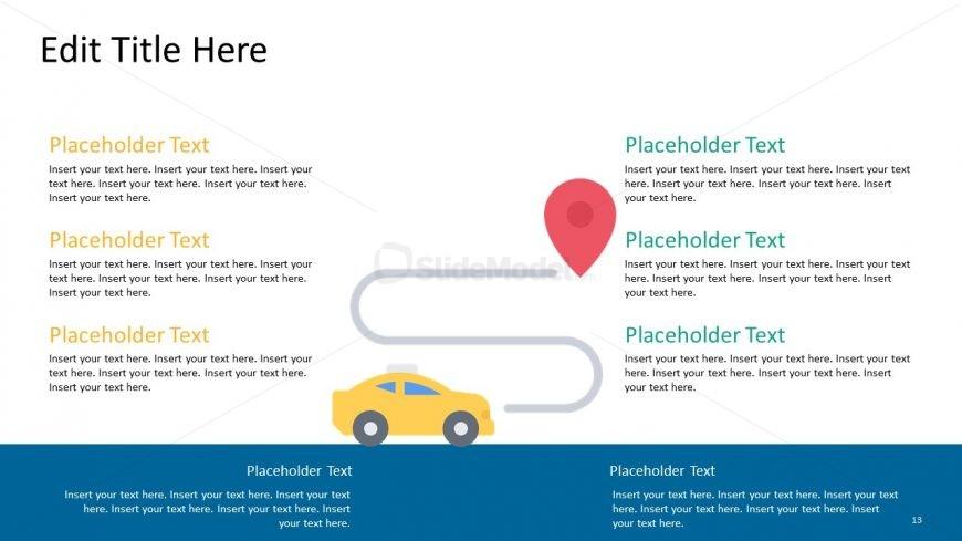 Presentation of Taxi Destination