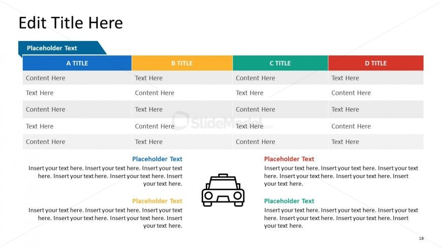 PPT Taxi Data Table