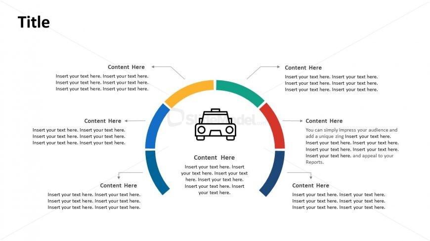 Circular Process DiagramTemplate