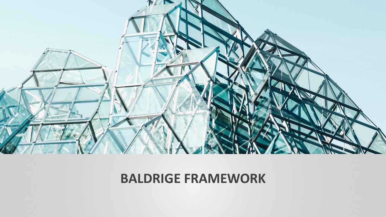 PowerPoint Baldrige Framework Template
