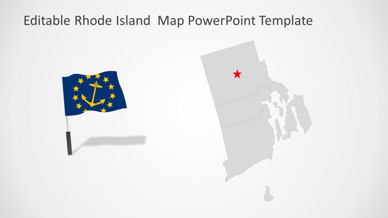 Editable Maps Rhode Island Counties