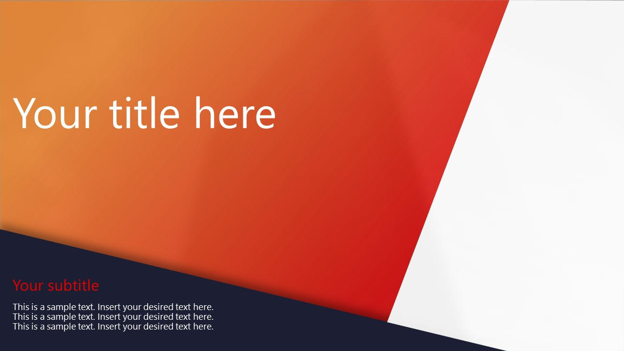 Professional PowerPoint Corporate Theme