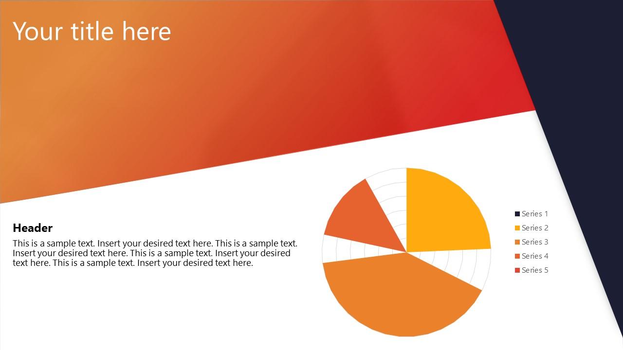 PowerPoint Corporate Presentation Radar Data Driven Chart