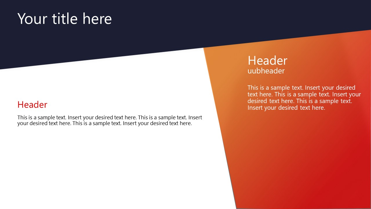 Gradients Theme Template for Corporate
