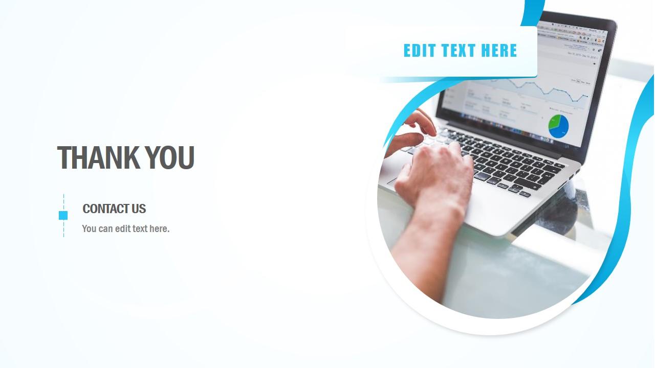 Business Presentation Contact Slide