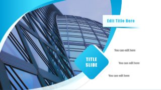 Slide with Landscraper Image Placeholder