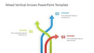 Flat Directional Arrow Template