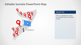 Presentation of Somalia Editable Map