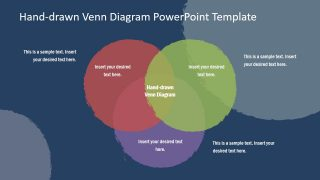 PowerPoint Venn Diagram Hand Drawn