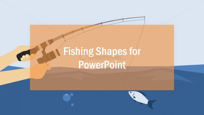 Fishing Rod PowerPoint Template