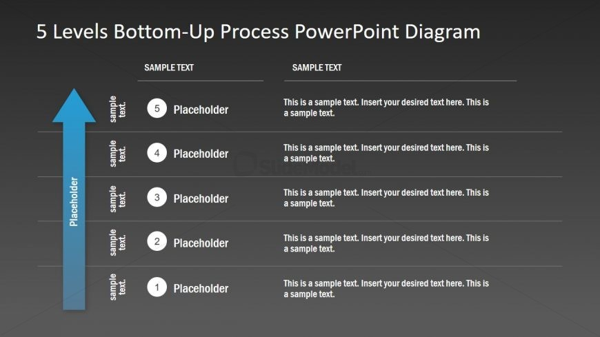5 Stages of Bottom-Up PPT Design