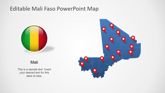 Editable Africa Maps PowerPoint Presentations