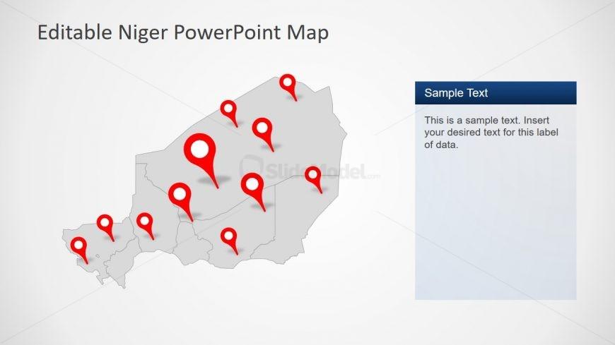 Location Marker in PowerPoint