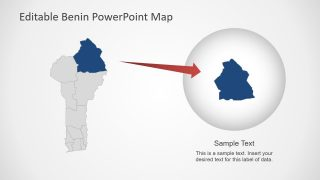 West African PowerPoint Map