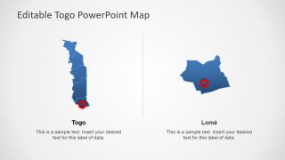 West Africa Map PowerPoint