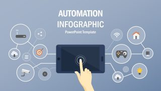 Automation Infographic PowerPoint Template