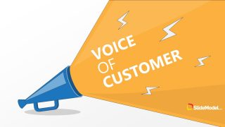 Slide of Megaphone for Customers