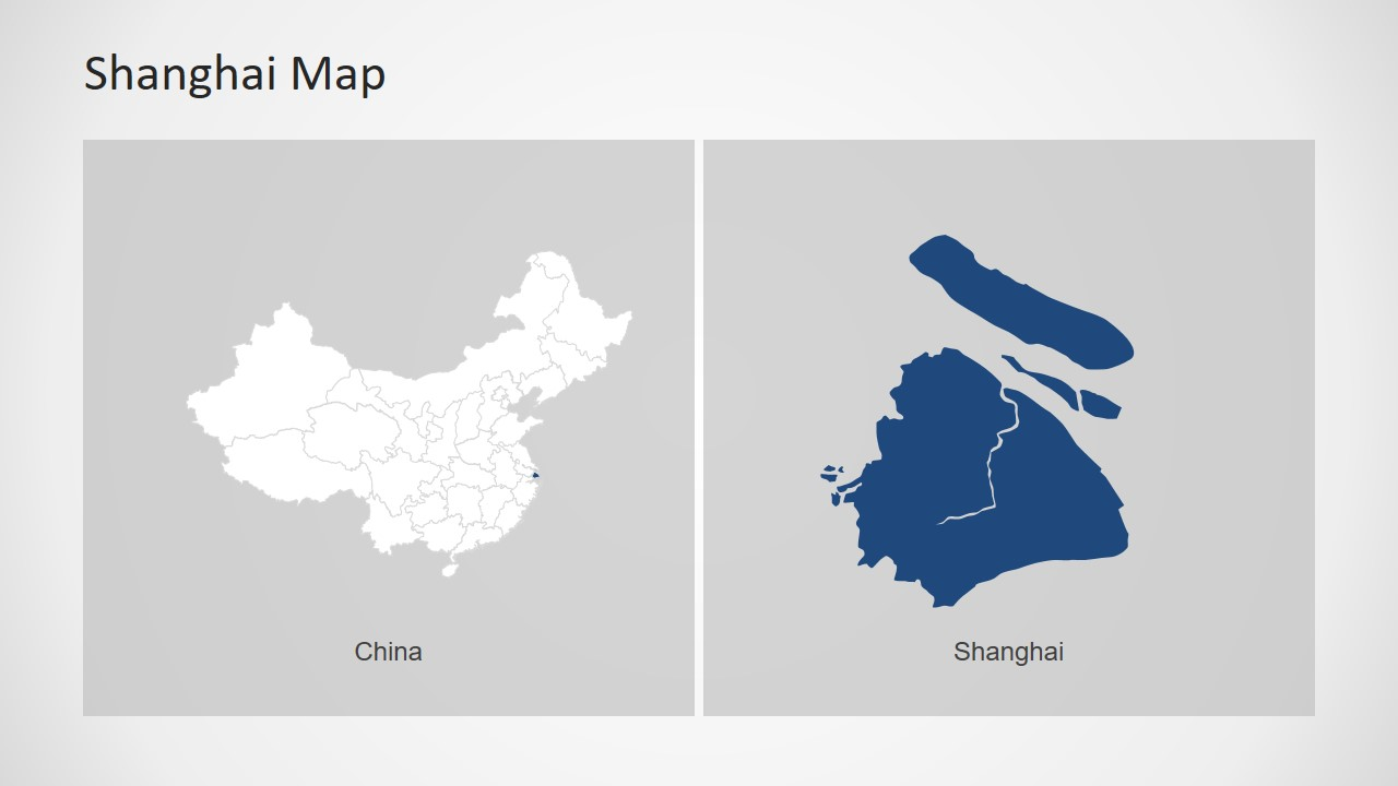 China Editable Map PowerPoint