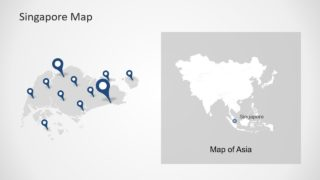 Layout Map Template Singapore
