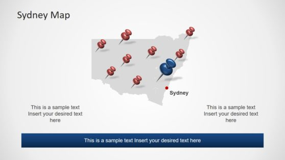 Editable Map of Sydney Template