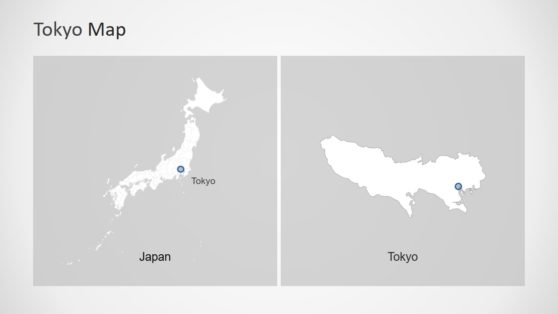 Tokyo Map Template Design