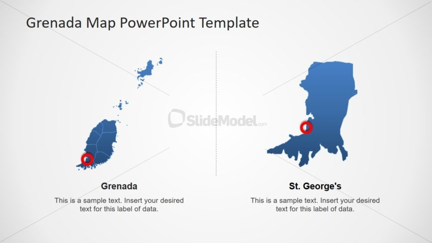 Editable Outline Map Design