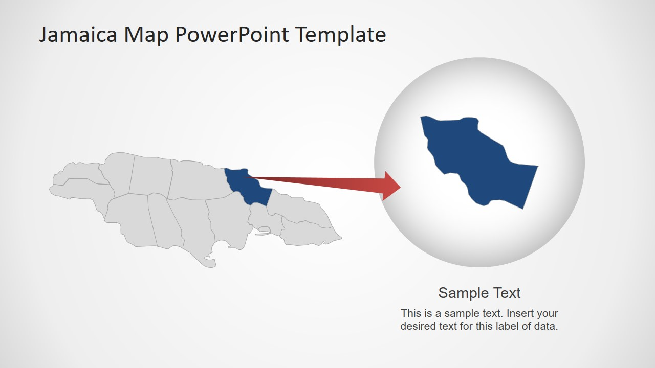 Country Map Presentation Design