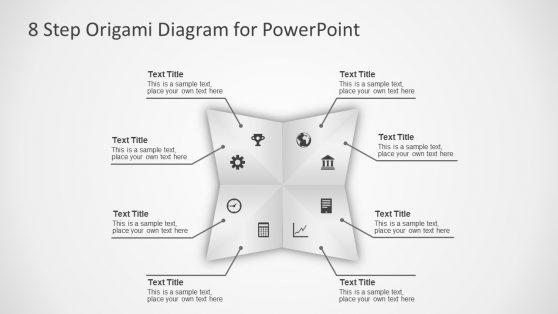 Editable PowerPoint Origami Diagram