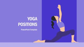 Yoga Positions PowerPoint Template