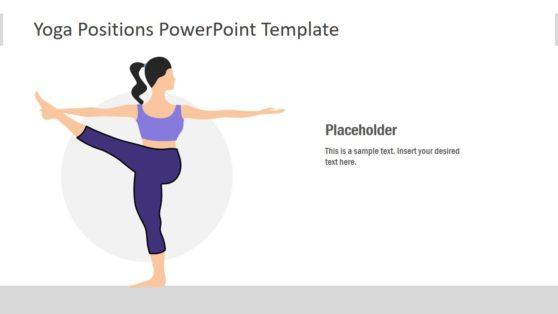 PowerPoint Yoga Position Illustration