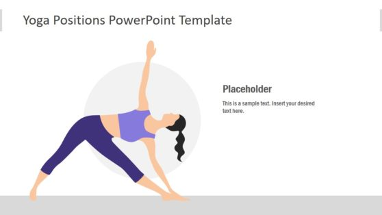 Meditation Yoga Pose PowerPoint