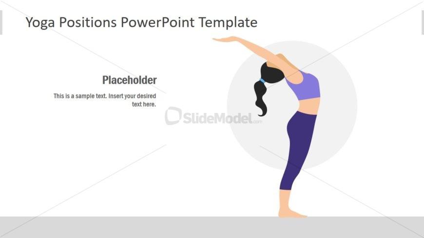 Flat Yoga Style Template