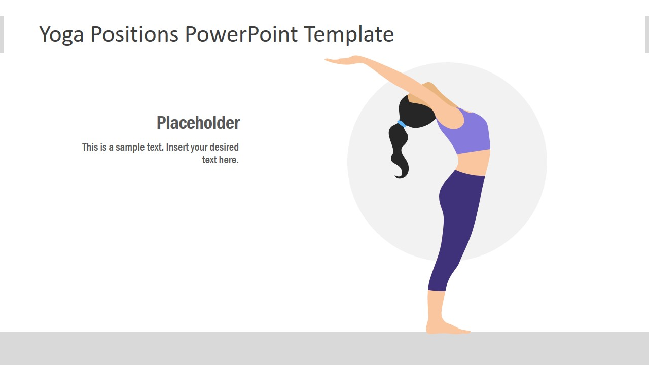 Flat Yoga Style Template