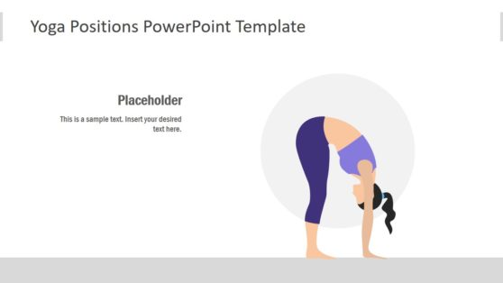 Flat PowerPoint for Yoga Positions