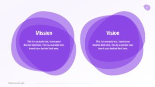 Mission and Vision Content Slide