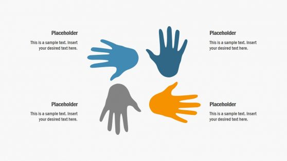 PPT 4 Steps Hand Shapes