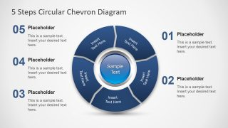 PPT Chevron Diagram Template
