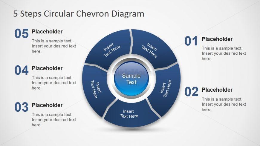 PPT Chevron Diagram Template