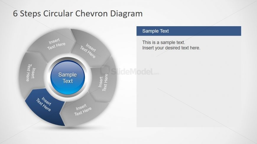 PPT Chevron Arrow Segments