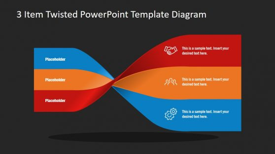 Infographics and 3 Items PowerPoint
