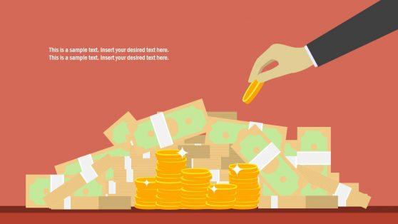 Slide of Money Clipart Shapes